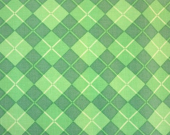Henry Glass -   Lucky Me! by Shelly Comiskey of Simply Shelly Designs - 6851-66  Argyle-Green
