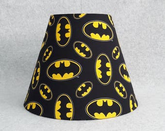 Batman lamp shade (DC Comics)