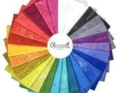 Sun Print 2018 Fat Quarter Bundle, Alison Glass, Andover Fabrics, Rainbow Fabric Bundle, Quilt, Cotton, Quilting, Modern, 27 Fat Quarters