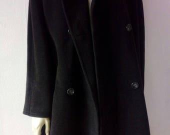 Max-Mara/Long winter coat/Virgin wool/First line coat/Womens 44 FR/12 US