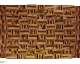 Kente Cloth Asante Handwoven Textile Ghana African Art 108082