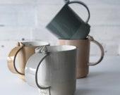 Coffee cup set, TWEET CUP, stoneware cups,