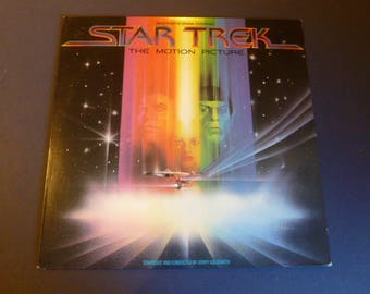Star Trek The Motion Picture Vinyl Record LP JS36334 Columbia Records 1979