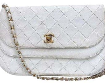 CHANEL Double Flap Shoulder Bag