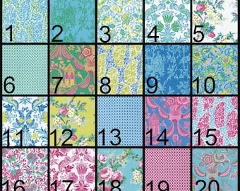 Baby Blanket, personalized baby blanket, Crib blanket, minky blanket, flowers, pink, yellow, blue, aqua