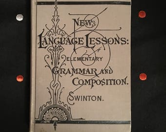 Swinton-  New Language Lessons: Elementary Grammar and Composition Textbook