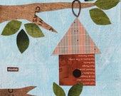 Mary's Make & Take Workshop - The birdhouse