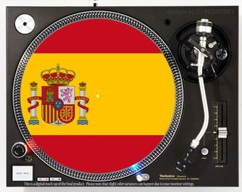 Spain Flag - DJ slipmat