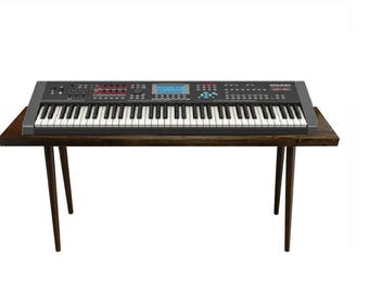 Mid Century Style Keyboard Stand / Desk - MADE TO ORDER 30 days