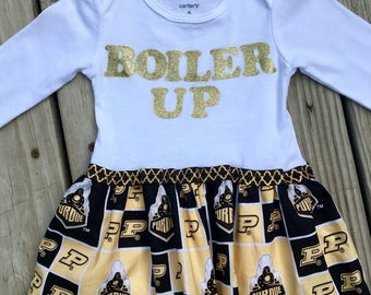 Purdue Boilermakers Baby/Toddler Bodysuit Dress