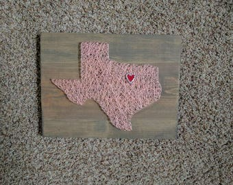 Made to order texas String Art