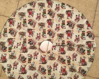 Santa's Workshop Tree Skirt (lg)