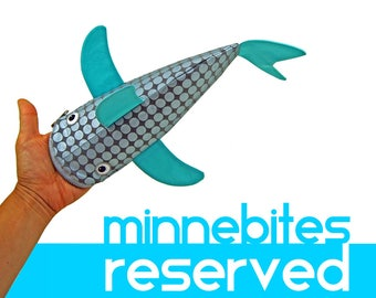 RESERVED for Cynthia - Best Seller Shark Pencil Case - Turquoise Zipper Bag - Silver Desk Accessory - Nautical Personalized Bag for School