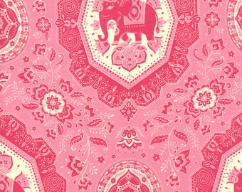 11453-17 Tea Rose, Trade Winds by Lily Ashbury for Moda