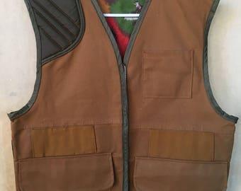 Vintage Saf T Bak hunting vest