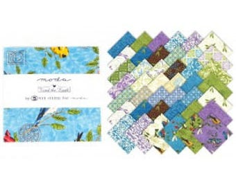 Tend The Earth Charm Pack by Deb Strain for Moda Fabrics 19540PP