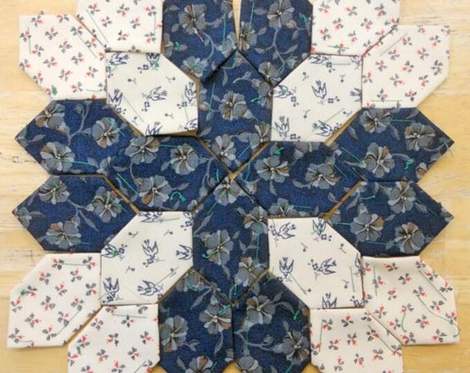 Lucy Boston Patchwork of the Crosses civil war block kit #4