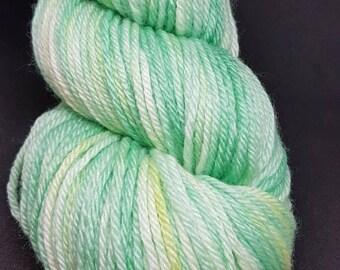 Hand Dyed Superwash Merino, bamboo DK knitting yarn knitting, crochet wool