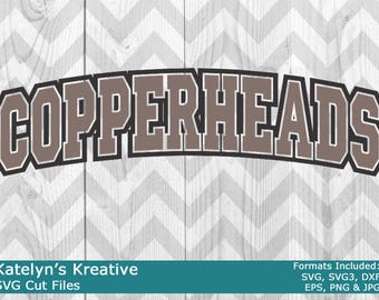 Cooperheads Arched SVG Files