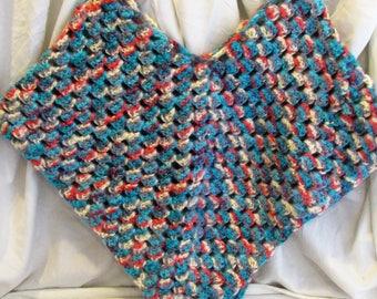 Crochet Girl Poncho