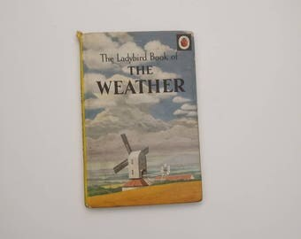 The Weather Notebook - Handmade from a vintage Ladybird book