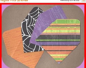 Handmade Card Stock Paper Envelopes HALLOWEEN Design Set 4