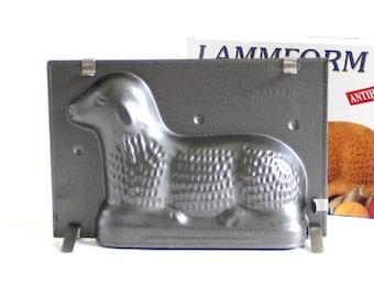 Kaiser Lamb Chocolate Mold, Butter Mold, Nonstick Cake Mold Kaiser Backform Lammform
