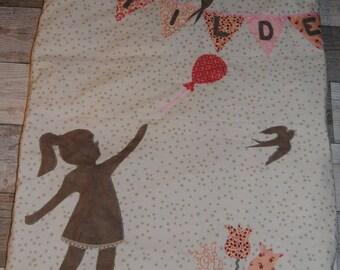"""""""The balloon girl"""" baby for Matilde blanket"""