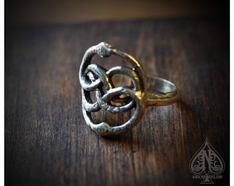 Silver Ring Auryn Neverending story
