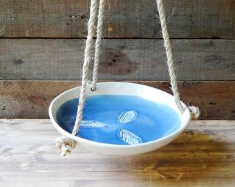 Bird bath, seaweed collection