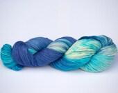 Laine Tricotcolor teinte main handdyedwool teinture laine multicolore tricot crochet mercerie fourniture créative fil fibre multicolore
