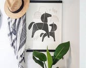 Art Print, Nordic Horse