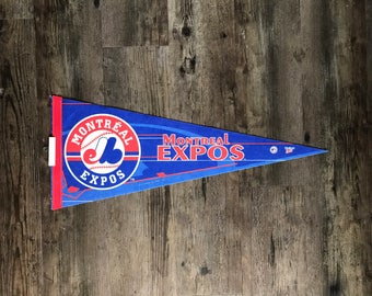 Montreal Expos Pennant