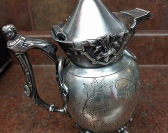 Antique Wilcox Silver Plate Teapot