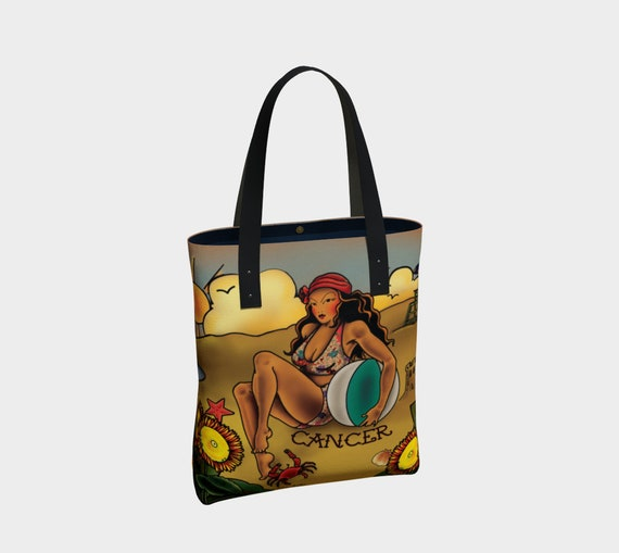Cancer - Tattoo Premium Tote Bag