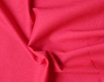 Voile cotton - red - 50 cm