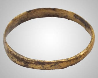 Authentic Ancient Viking  wedding Ring, medieval ring, wedding band, wedding ring  C.866-1067A.D. Size 8  (18.5mm)(Brr1028)