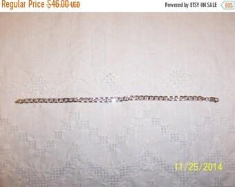 TWICE A YEAR, 25% Off Vintage Mariner Bracelet. Sterling Silver.