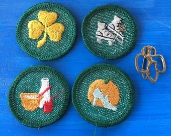 1 - Girl Scout Badges lot