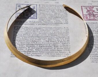 "Brass Neck Collar, 1/2"", Raw Brass"