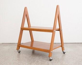 Minimalist Triangle Bar Cart