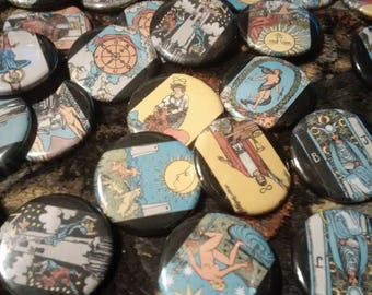 random Tarot Major Arcana pins