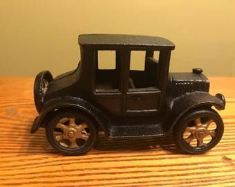 Vintage Cast Iron Model T Ford