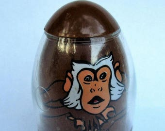 20% Summer SALE RARE Vintage Nkima Weeble-Tarzan's Pet Monkey, 1970s collectible vintage toy by Edgar Rice Burroughs