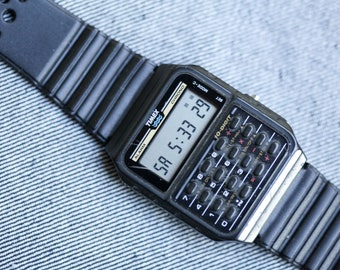 Vintage Timex Digital Calculator watch