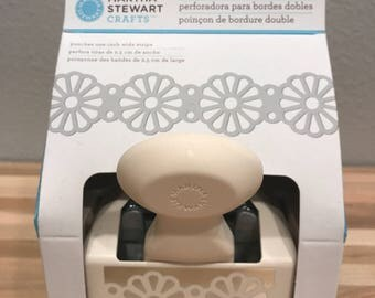 Daisy Trim Martha Stewart Crafts Double Edge Punche