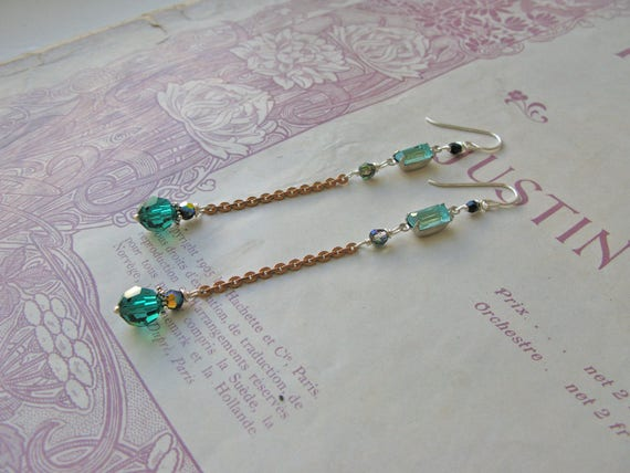 Mitzi Exotica earrings...