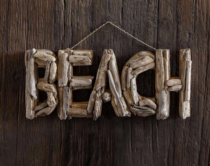 Driftwood Beach Décor BEACH signs by SEASTYLE