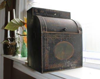 Antique Store Spice Display Bin Dispenser Jewett & Sherman 1800s