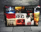Master of horror inspired large cosmetic bag stephen king